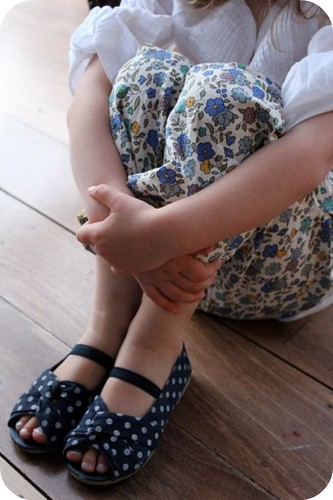 little spotty shoes