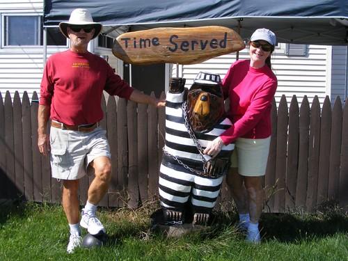 Jail bear