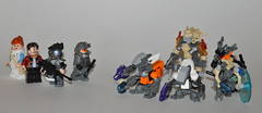 LEGO Halo: Reach - Project: New Alexandria Minifigures ([Renegade]) Tags: new alexandria project major marine jackal lego halo flame highrise reach grenade figures productions renegade brite grunts civilians unsc odst skirmisher brickjet