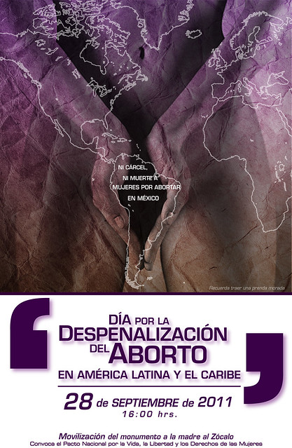 Marcha 28 de septiembre. Día por la despenalización del aborto en América Latina y el Caribe