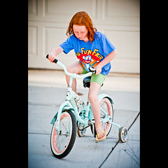 September 8, 2011 {365-251} (dmacphoto) Tags: california girl oneaday childhood bike bicycle tallulah youth fun bicycling cycling photo kid nikon child play ride daughter young redhead photoaday 365 redhair trainingwheels pictureaday fairoaks project365 d700 danielmacdonald dmacphoto danielmacdonaldphotographer dmacphotocom