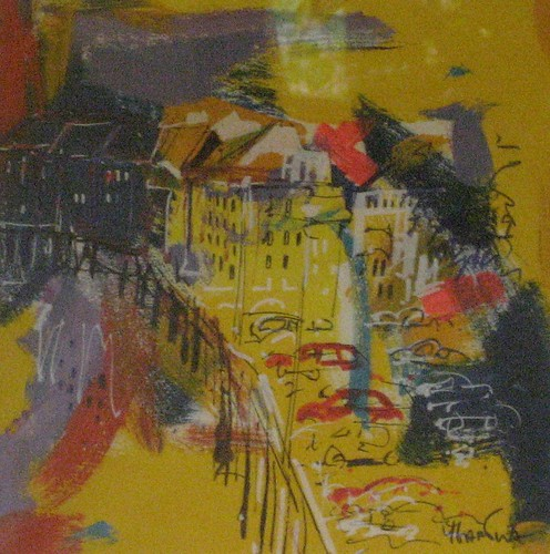 Paris by Night   -Painting- Original