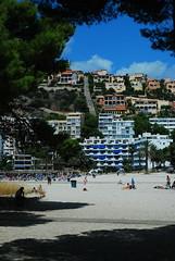 hotels (crazy.morgana) Tags: beach 50mm spain sand nikon holidays september f18 wakacje majorka 2011 plaża hiszpania piasek mallorka d80 crazymorgana