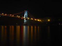 Bridge (historygradguy (jobhunting)) Tags: bridge ny newyork reflection water river upstate poughkeepsie hudsonriver suspensionbridge dutchesscounty hudsonvalley bigmomma midhudsonbridge franklindelanorooseveltmidhudsonbridge herowinner
