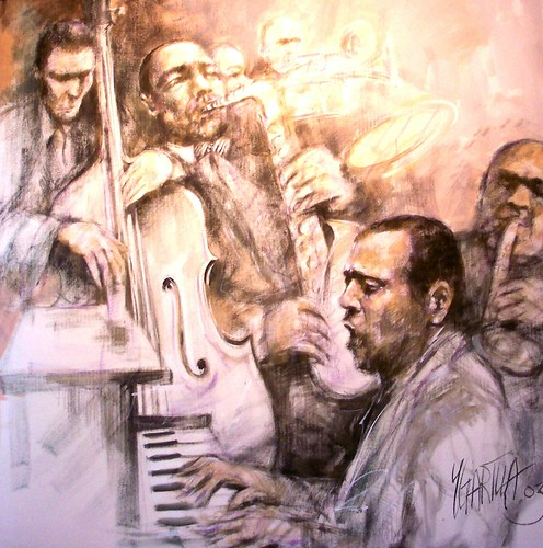 Jazz - Sepia Painting
