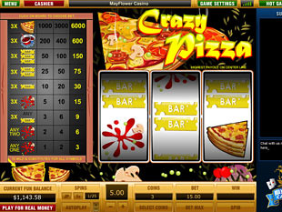 Crazy Pizza slot game online review