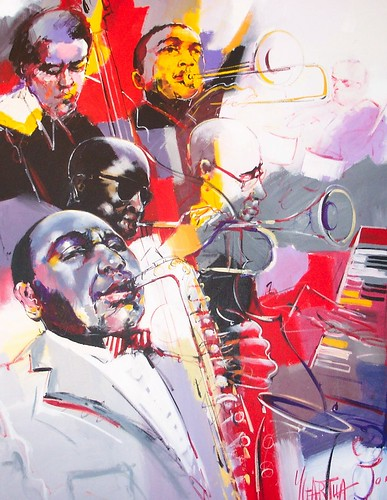 Jazz Group - Painting