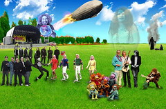 Reaper (IronUK) Tags: music field festival photoshop elvis hendrix fragglerock ledzeppelin theeagles thebeatles statusquo janisjoplin elvispresley photoshoptennis bucksfizz nickdrake blueoystercult ironuk game316festival