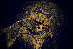 (fusion-of-horizons) Tags: light building church monument architecture de religious photography photo fotografie photos interior religion churches christian explore monastery romania cupola dome christianity eastern orthodox convent ecclesiastical fresco bucharest biserica romana
