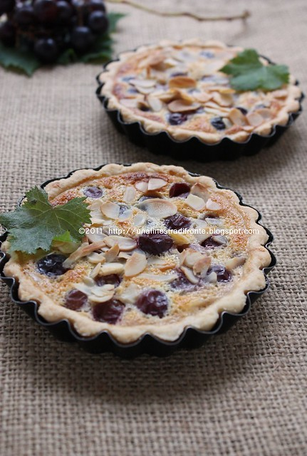 Tarte royale all'uva nera