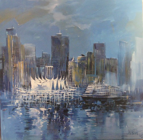 Pan Pacific - Painting - Abstract-Impressionism