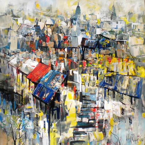 Toits de Paris - Painting - Impressionism