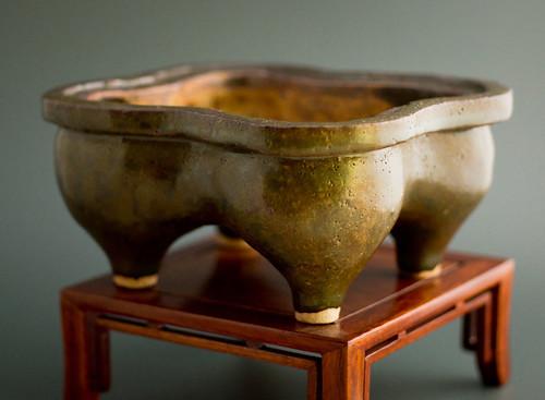 self-made bonsai pot