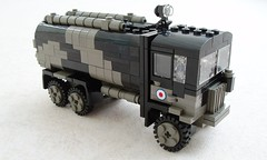 RAF Matador Refueler (5) (Mad physicist) Tags: truck lego british tanker raf matador aec refueler