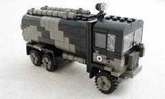 RAF Matador Refueler (5) (Mad physicist) Tags: truck lego british tanker raf matador aec refueler