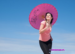 Melanie, Pin up (Isidr Cea) Tags: playa pinup zuiko1454 olympuse3 las13muertes isidrocea isidroceagmailcom melaniefernndez fsuro