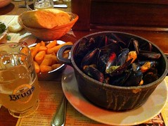 Mussles and Brugs in Brussels