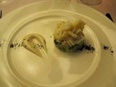 Squid tagliatelle