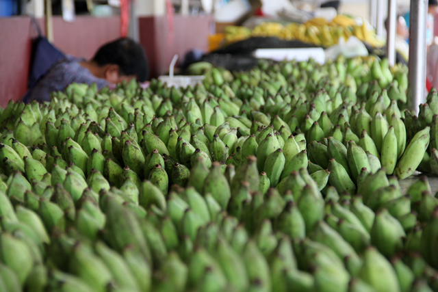 Bananas at Maharaj Market