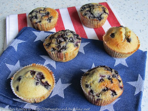 Heidelbeer-Muffins - Mad Hungry
