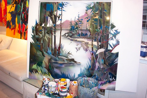 West Coast Canada    Painting Orginal