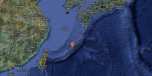 Okinawa en el Mapa
