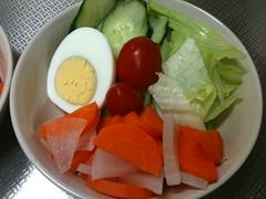 朝食サラダ(2011/9/27)