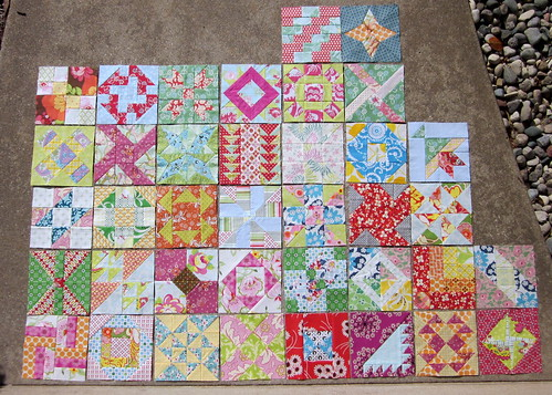 Farmer's Wife Sampler blocks