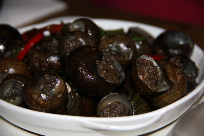 Stuffed Li River Snails 阳朔酿田螺