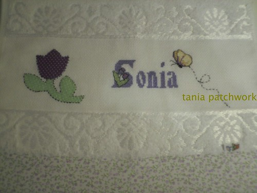 Toalha de Lavabo...... by tania patchwork