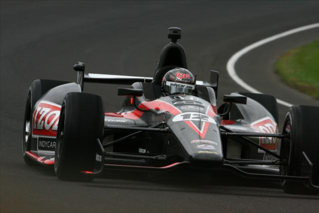 Dan Wheldon in the 2012 INDYCAR