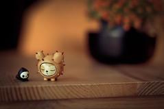 Dozing again (MMortAH) Tags: cactus toys 50mm pups nikon simone designer 14 vinyl nikkor legno tokidoki d90 riposino