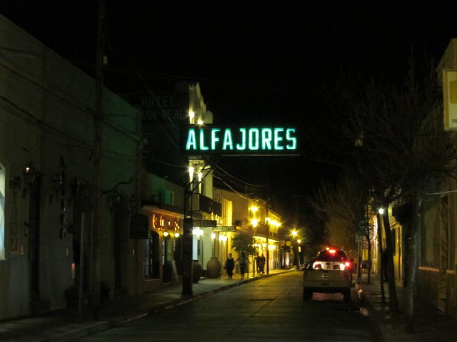 Alfajores Sign in Salta