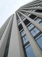 Opernturm (hightower185) Tags: tower architecture am opera skyscrapers frankfurt main highrises ffm hochhuser opernturm