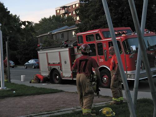 Firemen by susanvg