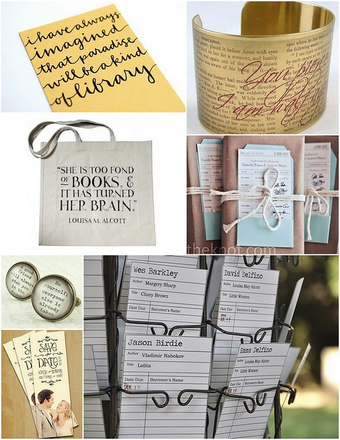 Literary Wedding Inspiration
