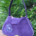 Purple Crush Purse by AtHomeWithSaraSays