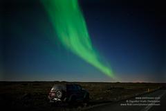 Aurora borealis shs_n3_085251 (Stefnisson) Tags: night stars lights iceland heaven jeep aurora northern borealis ntt norurljs jeppi stjrnur