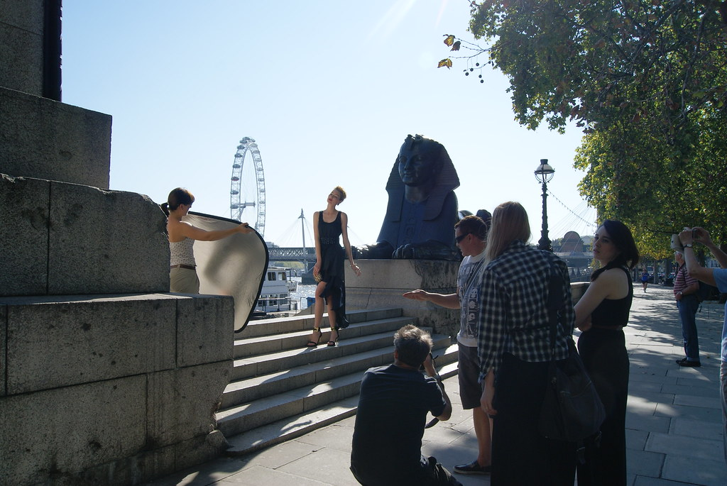 Modelling on the banks of London