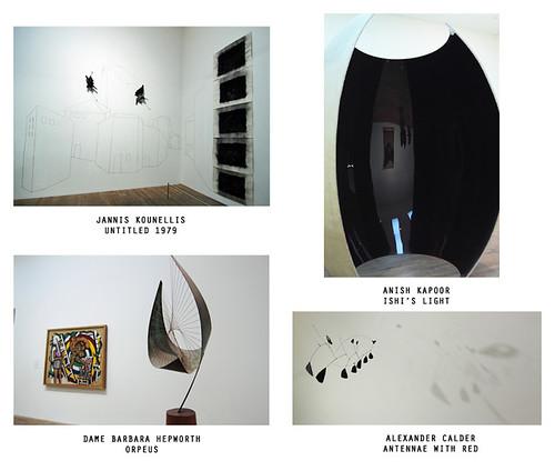 Kounellis, Kapoor, Hepworth and Calder