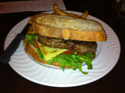 Steak Sandwich at The Generous Squire