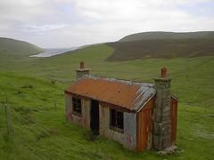 Shed 2005 (nz_willowherb) Tags: tin scotland iron flickr decay shed shetland corrugated mainland wriggly visitshetland seeshetland goptoshetland