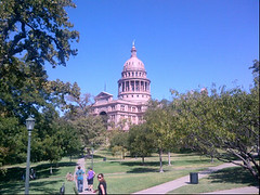 Just in time for the tour at the State Capitol. This place is so beautiful.