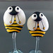Earring pair : Bee