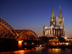 Blaue Stunde und der Kölner Dom