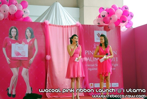 Wacoal Pink Ribbon Launch @1 Utama-2