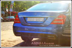 Blue s350 Mercedes in the Champs Elysees (Abdulla Albani) Tags: mercedes benz s 350 amg sclass          laxury bluemercedes mercedesbenzs350  mercedess350 saudicar  bluesclass saudimercedes