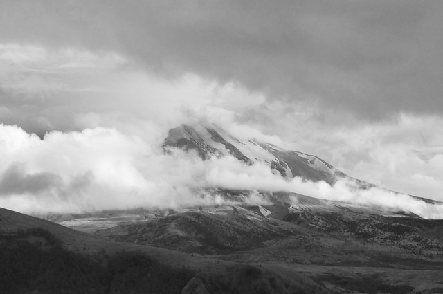 Mt. St. Helens ~ Layers of Gray