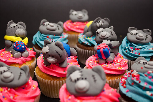 Tatty Teddy Cupcakes