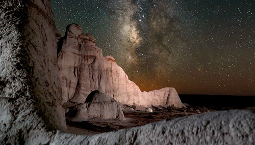 Setting Milky Way